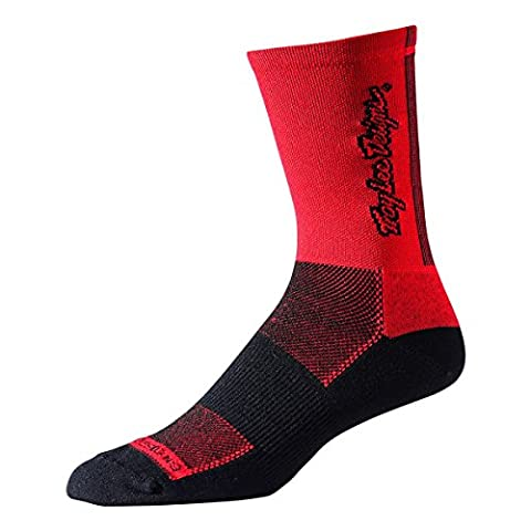 Troy Lee Ace Performance Chaussettes Rouge rot - rot N/A