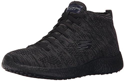 Skechers Burst, Baskets Basses Femme Black/black