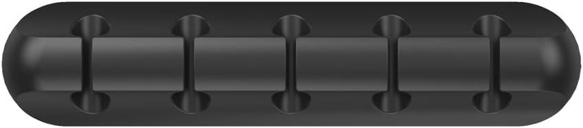 perfk Schreibtisch Kabelhalter Selbstklebend, Kabelführung Ladekabel Management System, Flexible und Lange Lebensdauer