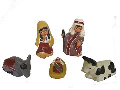 Discount ethnique – Crèche terre cuite juif H.10 cm.
