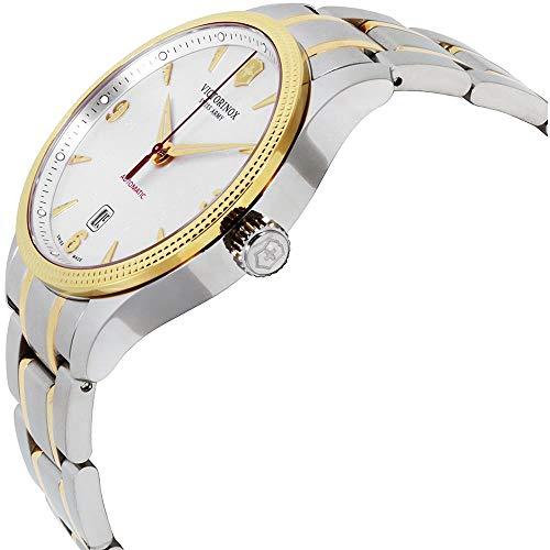 Victorinox Alliance Herren-Armbanduhr 43mm Zwei Ton Automatik 249096