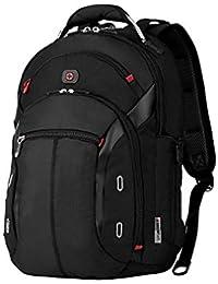 "Wenger 600627 GIGABYTE 15.4"" MacBook Pro Backpack , Anti-scratch lining with iPad/Tablet / eReader Pocket in Black {20 Litres}"