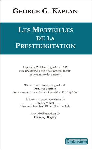 Téléchargement Pdf Livre Merveilles De La Prestidigitation Pdf Livre