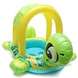 Baby Kids Tortoise Shape Inflatable Pool Float Seat Boat Water Swim Ring