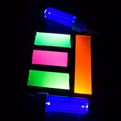 Gaffa Tape neonpink uv-aktiv, 50mm x 25m, wasserabweisend - Gewebeklebeband / Gaffer Klebeband - showking