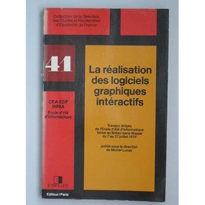 LA REALISATION DES LOGICIELS GRAPHIQUES INTERACTIFS. COLL. CEA EDF N 41