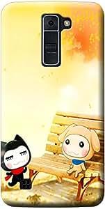 Fashionury Printed Soft Back Case Cover For LG K7-Print420897