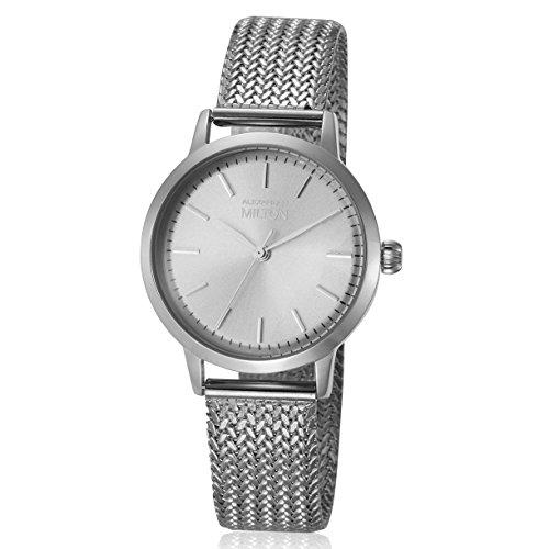 ALEXANDER MILTON - montre femme - FLORA, argente