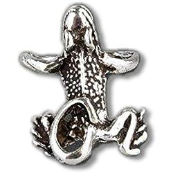 Pendiente de plata de rana etNox