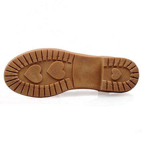 Moda Calcanhar Slingback Sapatos Das Sandálias Mulheres Rosa Da Bloco Coolcept Knochelriemchen 5XTxw1qg