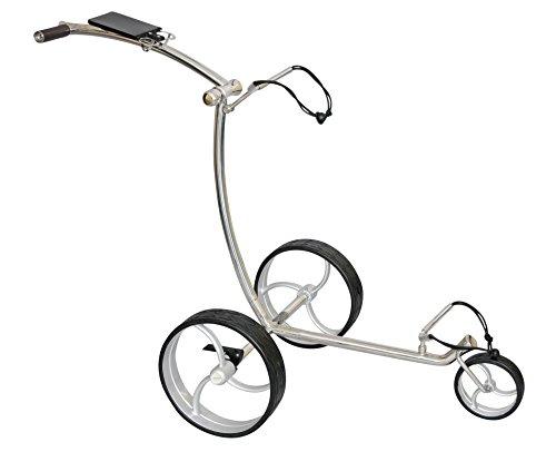 Chariot de golf Tour Made RT-210W en acier inoxydable à...