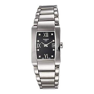 Tissot Reloj Analógico para Mujer de Cuarzo con Correa en Acero Inoxidable T0073091105600