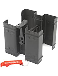JG Dual Mag Clamp para MP5 Cargador - AirsoftGoGo Llavero Incluido