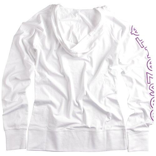 Chiemsee Femme pour Femme à capuche manches longues Estelle Blanc - Blanc