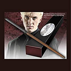 The Noble Collection Harry Potter Draco Malfoy Wand en la caja Ollivanders