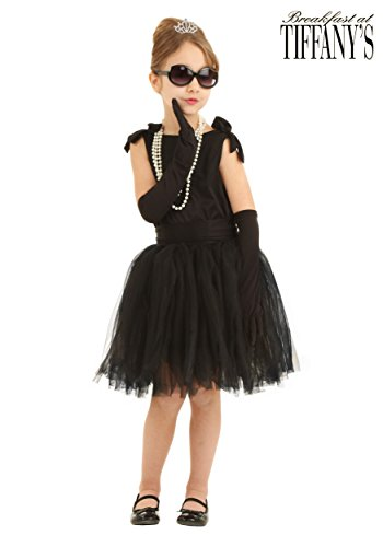 Child Breakfast at Tiffany's Holly Golightly Fancy dress costume (Breakfast Kostüme Tiffanys At)