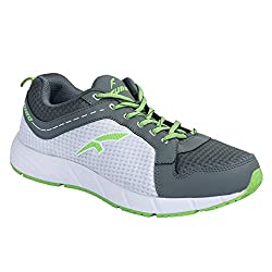 Furo (By Red Chief)) Grey Mens Walking Sport Shoes (W3006 780) Size - 9 (UK/India)