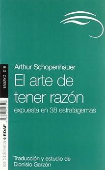 El arte de tener razón (Nueva Biblioteca Edaf) de [SCHOPENHAUER, ARTHUR]