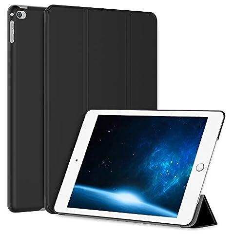 JETech iPad Air 2 Smart Case Coque Etui Housse Support Léger avec Auto Réveil / Veille pour Apple iPad Air 2 (Noir)