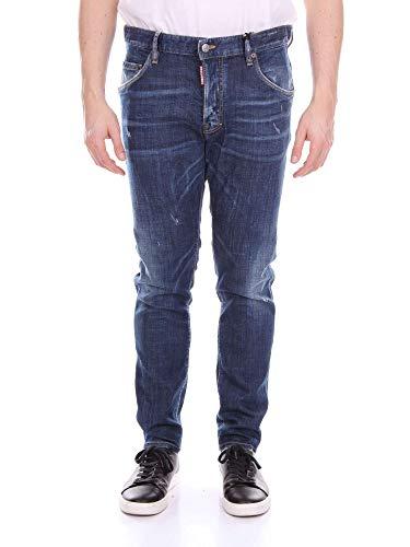 dsquared damen jeans Dsquared2 Jeans | Skater Jean SIZE 48,50,52,54 navy distressed (52)