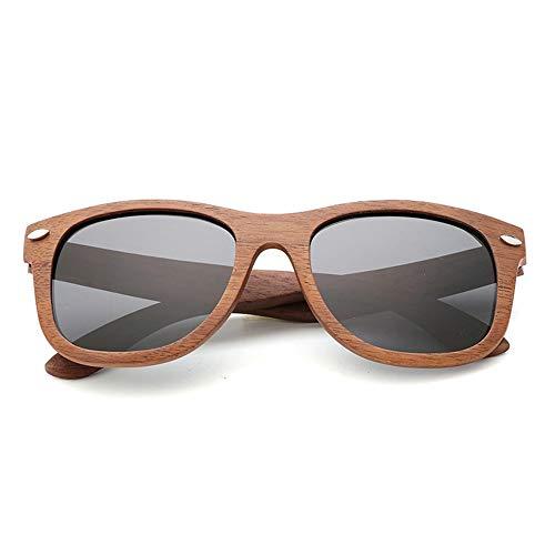 DelongKe Herren Sonnenbrille Schwarz Retro,Federscharnier Für Herren Und Damen Polarisiert Und Antireflexion Sorgen Für 100% Igen Schutz Vor UV-Strahlen,blackash