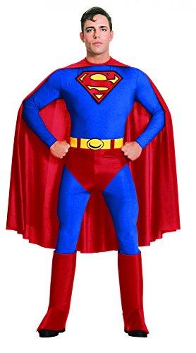 Superman Kostüm für Herren, Größe:S