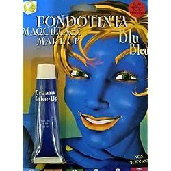 Fondotinta colore BLU effetto Alien o Avatar