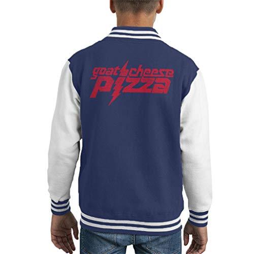 Comics Kingdom Zits Red Goats Cheese Pizza Kid's Varsity Jacket High-school-varsity-jacken
