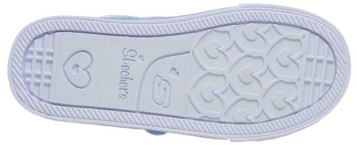 Skechers Shufflestriple Up, Sneakers Basses Fille Turquoise (tqsp)