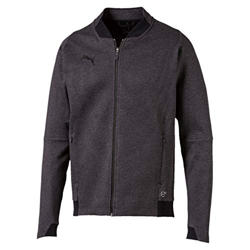 Puma Herren FINAL Casuals Jacket Jacke, Dark Gray Heather, L - Jacke Herren Puma Winter