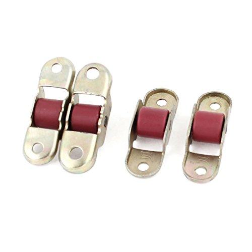 Preisvergleich Produktbild 12mm 8088 Typ Tür-Fenster-Einzel Nylon Roller Sash Scheibenrad 4 Stück