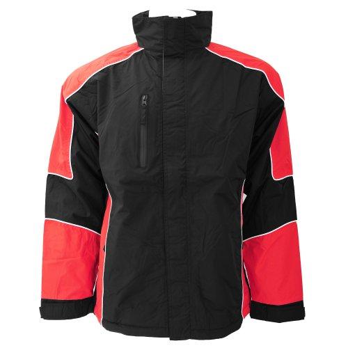 Formula Racing Monza - Veste de sport imperméable - Homme Noir/Orange/Blanc