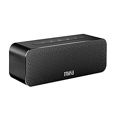 Enceinte Portable 30W, MIFA Soundbox Haut Parleur Bluetooth 4.2 TWS & DSP Suono Stereo & Bass, Audio 3,5 mm, Emplacement pour Carte Micro SD, Microphone pour iPhone, iPad, Samsung, Echo Dot et Plus de MIFA INNOVATIONS LLC