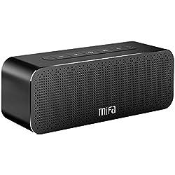 Enceinte Portable 30W, MIFA Soundbox Haut Parleur Bluetooth 4.2 TWS & DSP Suono Stereo & Bass, Audio 3,5 mm, Emplacement pour Carte Micro SD, Microphone pour iPhone, iPad, Samsung, Echo Dot et Plus