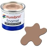 Humbrol 14ML No. 1Pintura para esmaltado 118(Color Marrón Mate)