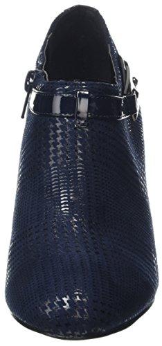 Lotus Damen Steepie Pumps Blue (Navy Print)