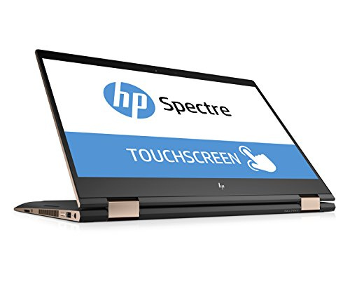 HP Spectre x360 15-ch003ng (15,6 Zoll / 4K IPS Touchdisplay) Convertible Laptop (Intel Core i7-8550U, 16GB RAM, 256GB SSD, Nvidia GeForce MX150 2GB DDR5, Windows 10 Home 64) Grau/Kupfer
