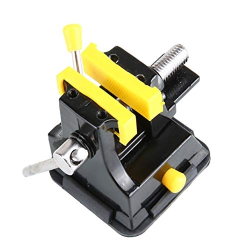 Tree-on-Life 38mm Aluminiumlegierung Mini Bohrmaschine Schraubstock Spanner Haushalt Tisch Bank Carving Messerhalter Für Schmuck Handwerk Holzbearbeitung