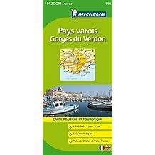 Carte ZOOM Pays Varois / Gorges du Verdon