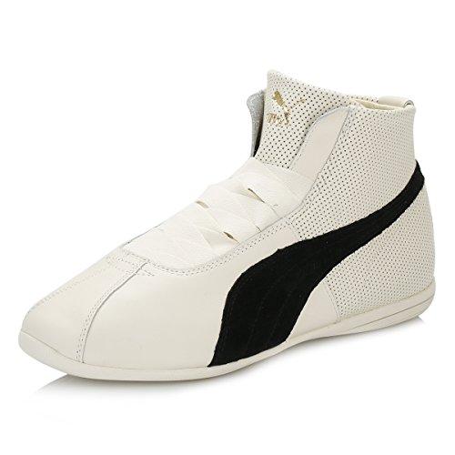Puma - Eskiva Mid, Sneaker Donna Bianco Nero