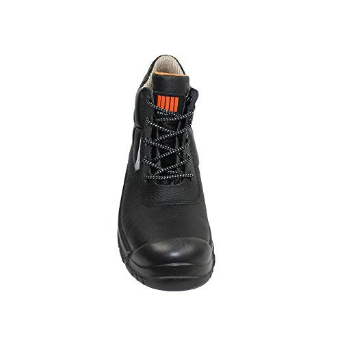 Ergos vigo businessschuhe chaussures de sécurité s3 sRC chaussures haut en noir Noir - Noir