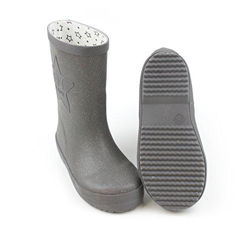 EnFant Unisex Kinder Gummistiefel, Gummi, Rubber Boots, 815110 Titanium