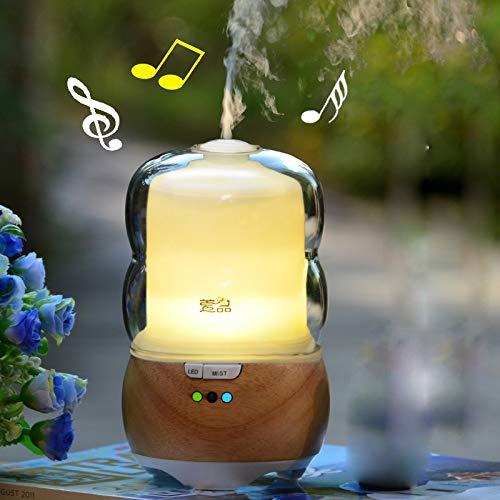 lonong Musik aromatherapie Lampe luftbefeuchter Bluetooth Sound - duft diffusor geführt,Musik, duft - Maschine (Diffusor Und Sound-maschine)