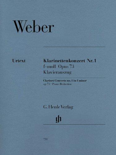 Konzert 1 F-Moll Op 73 Klar Orch. Klarinette, Klavier