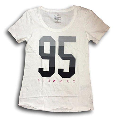 Frauen von Nike Air Max 95 T-Shirt (Groß, (Kleidung Schuhe Nike Air)