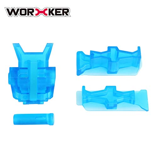 Worker Top- und Side-Rail-Adapter-Basissatz Toy Gun-Modifikation für Nerf Stryfe