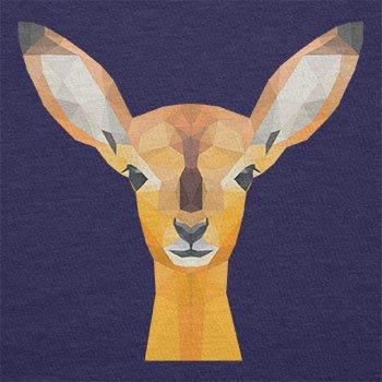 TEXLAB - Poly Oh my Deer - Herren Langarm T-Shirt Navy