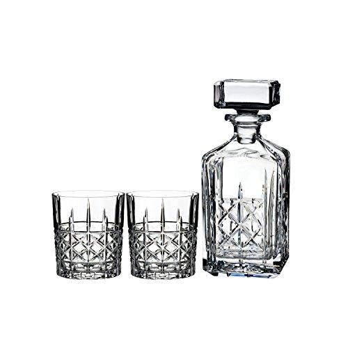 Waterford Dekanter & Whisky-Gläser, 2Stück -