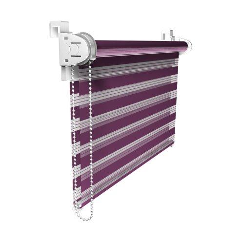 victoria-m-double-store-enrouleur-55-x-150cm-aubergine-violet-klemmfix-sans-percage-ni-forage-montag