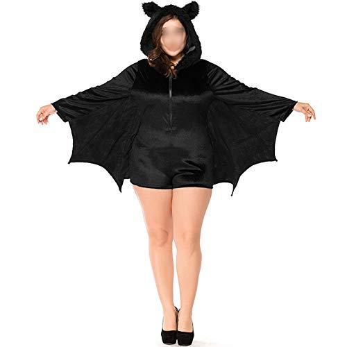 Ansemen Halloween Kostüme - Kind Erwachsene Gemütlich Fledermaus Overall Vampir Cosplay Kostüm Mädchen Frau Familie ()